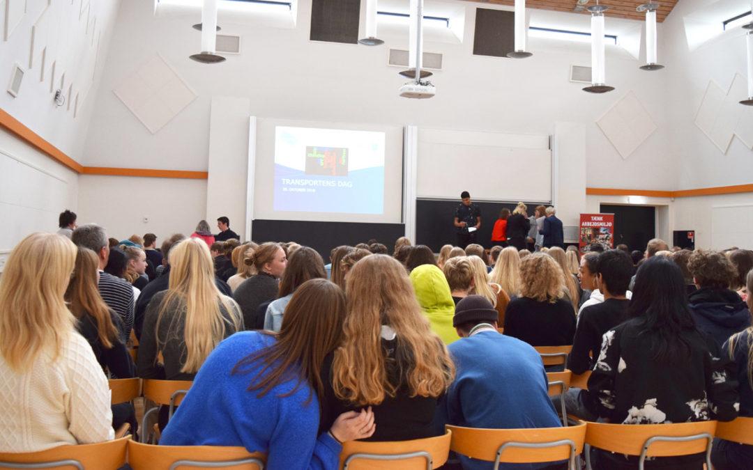 Engagerede elever og virksomheder til kåring af projekter fra Transportens Dag