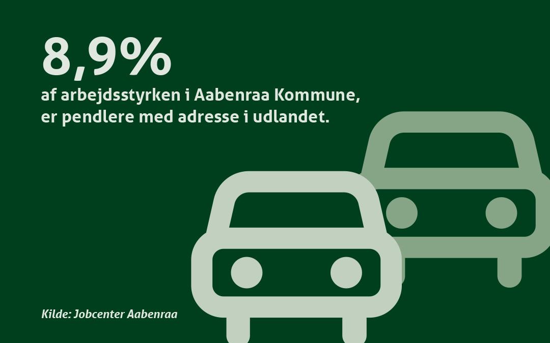 GateDenmark har flest pendlere med udenlandsk adresse
