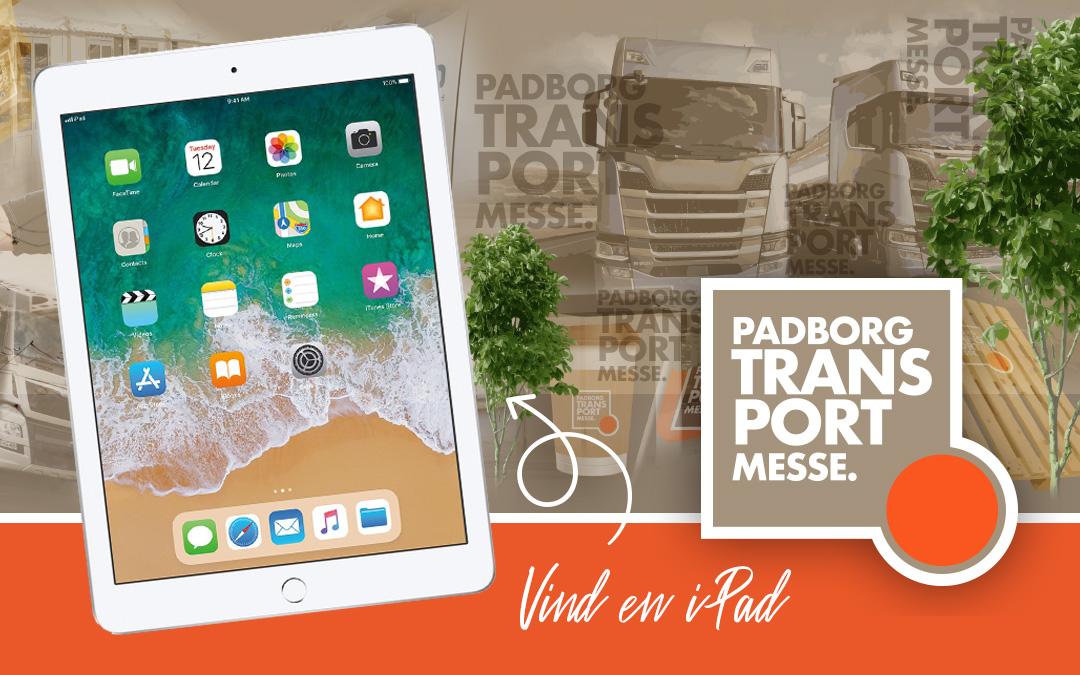 Kom til Padborg Transportmesse – og vind en iPad