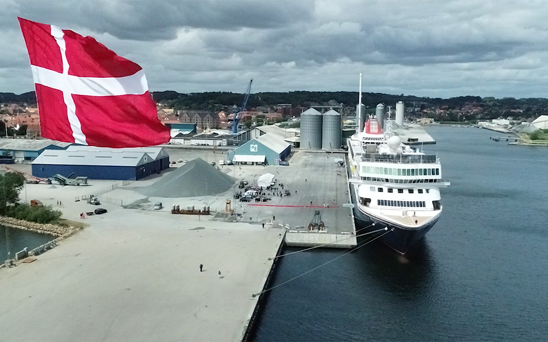 Grand Visit to the Port of Aabenraa