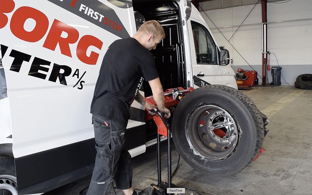 Nyt dækcenter til Padborg
