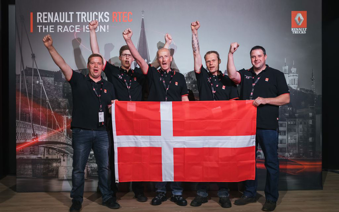 Skifter Lastbil A/S stolte over indsats ved RTEC 2019 i Lyon