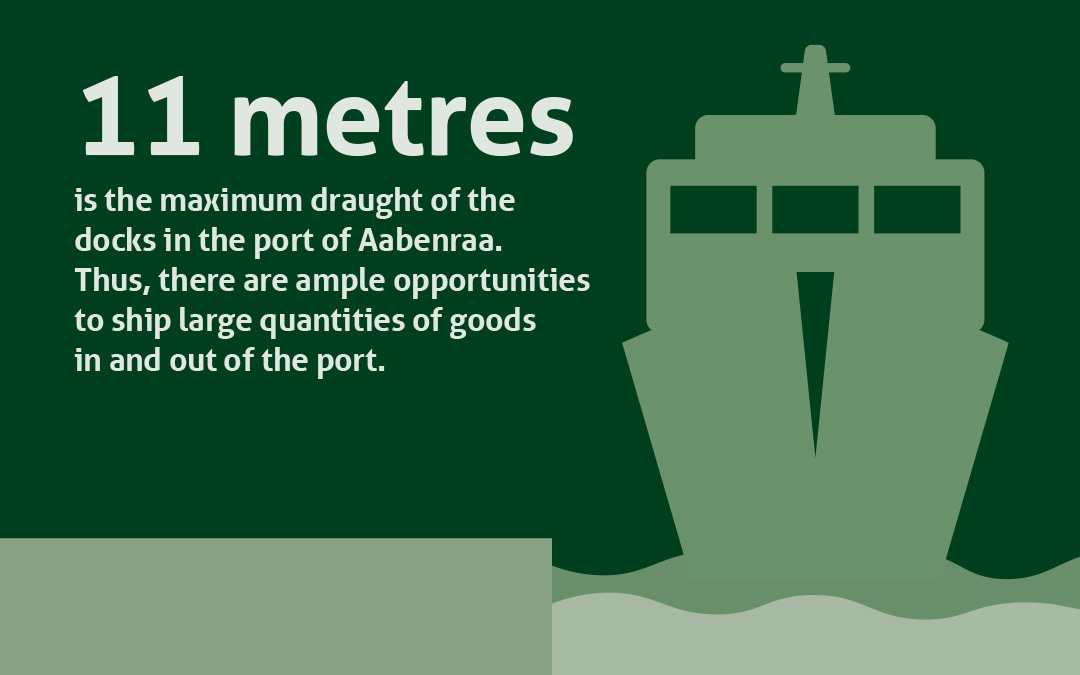 Great Commercial Conditions in the Port of Aabenraa
