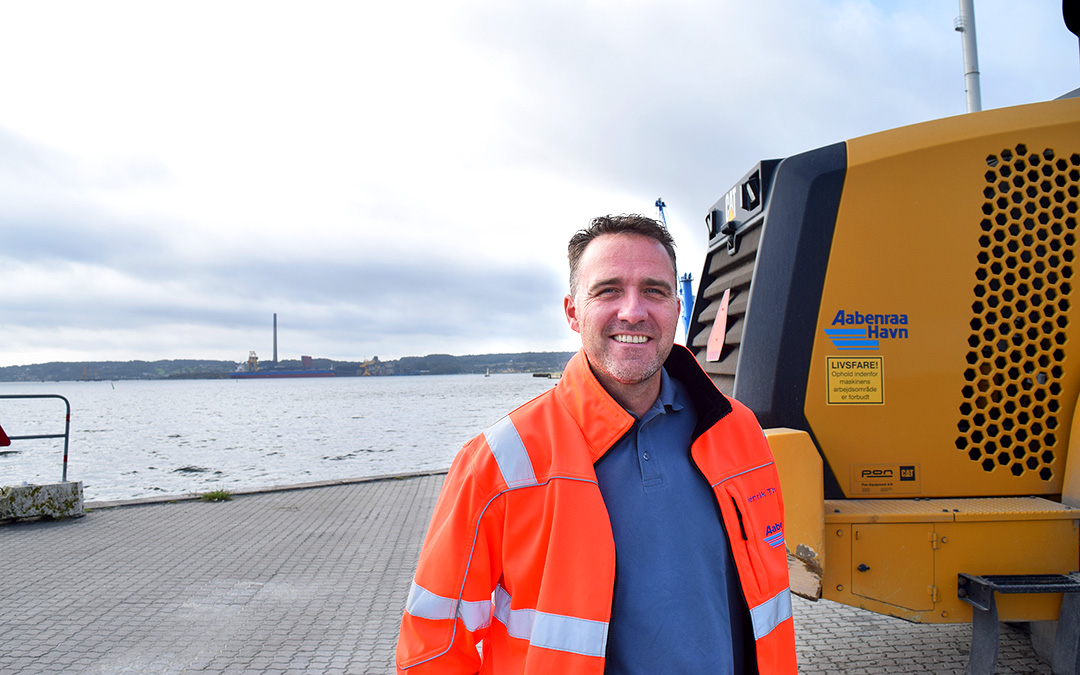Business is Good for the Customers at the Port of Aabenraa and thus also for the Port Itself