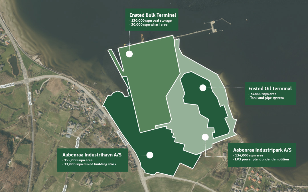 New District Plan for the Port of Ensted in Public Hearing