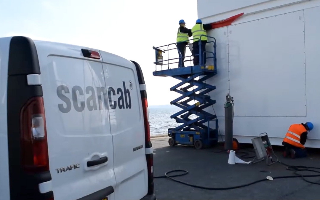 The Port of Aabenraa Made the Space Available when Scancab in Kliplev Faced a Challenge