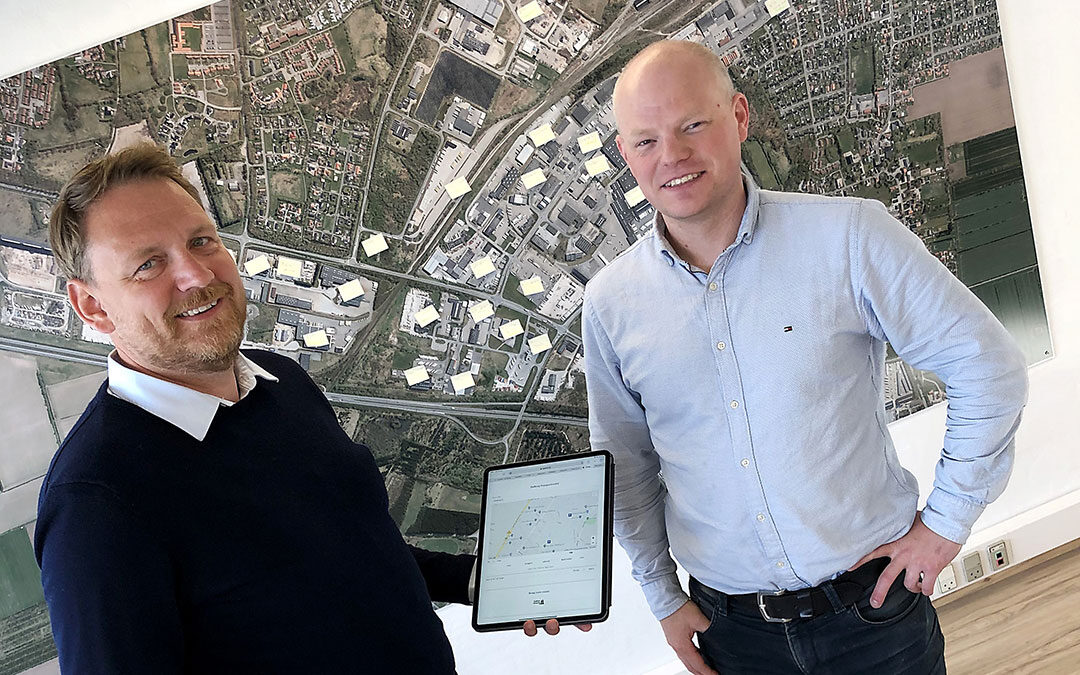 New App Will Make Everyday Life Easier in Padborg Transport Centre