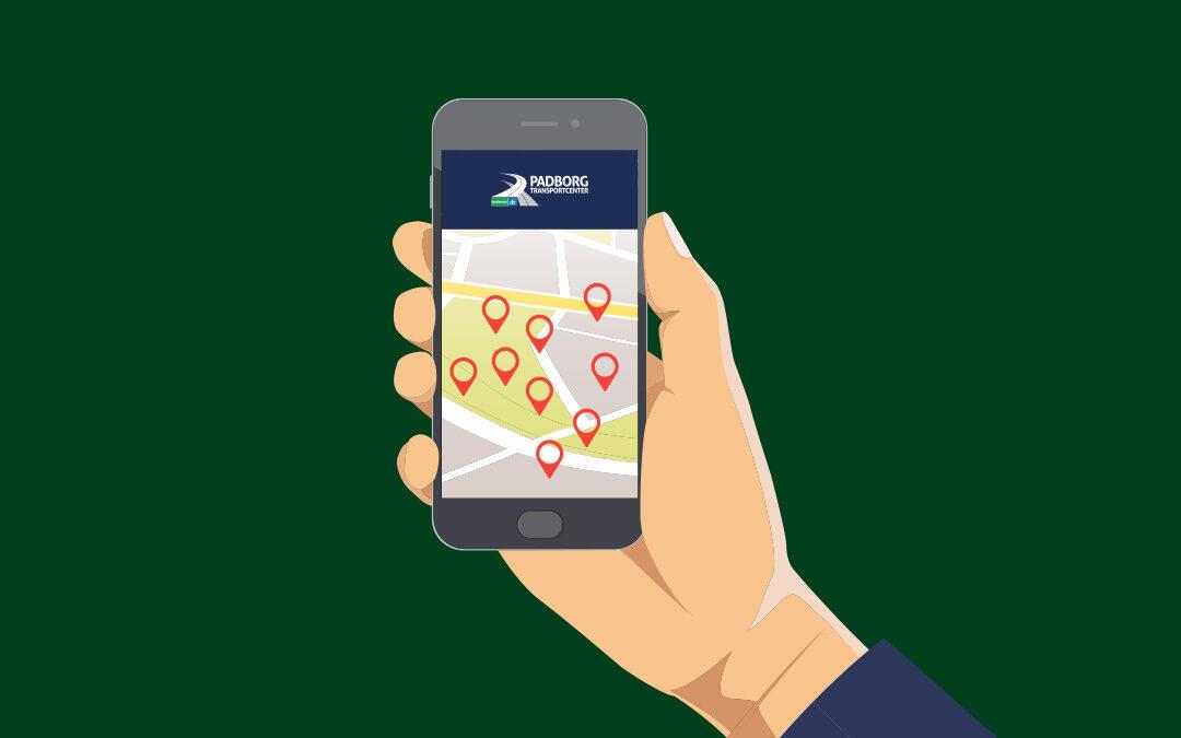 Ny app på vej fra Padborg Transportcenter