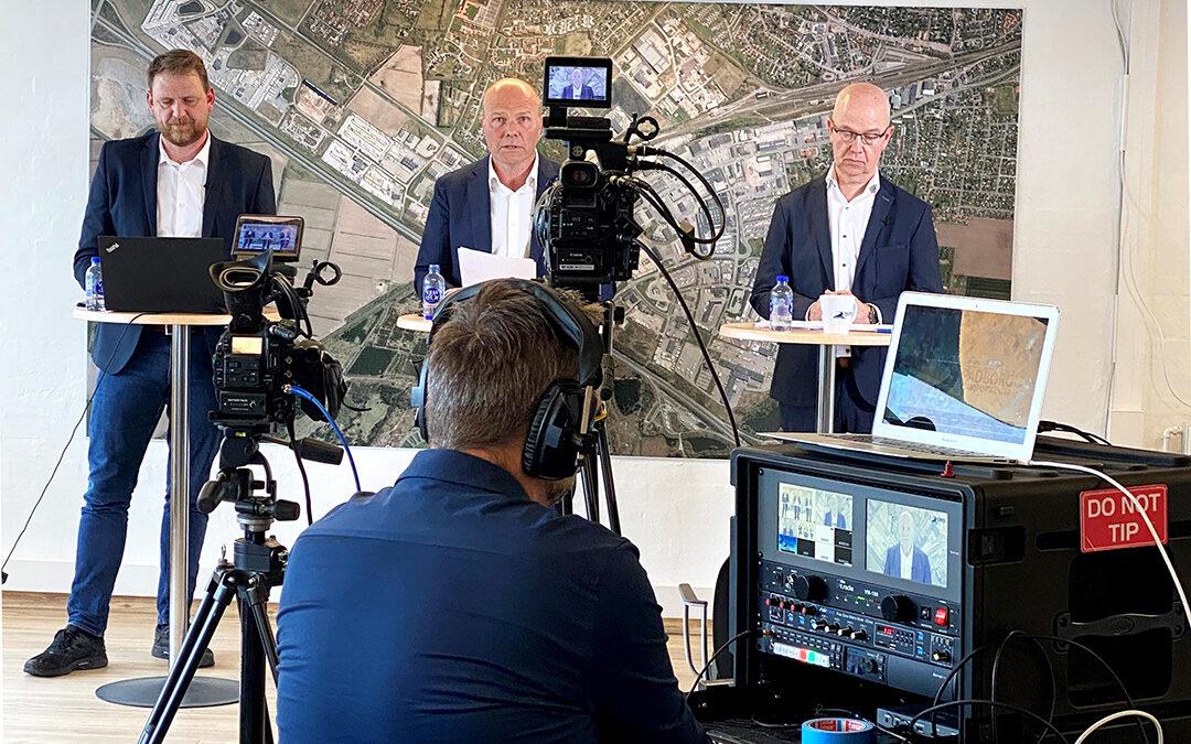 Online generalforsamling i Padborg Transportcenter