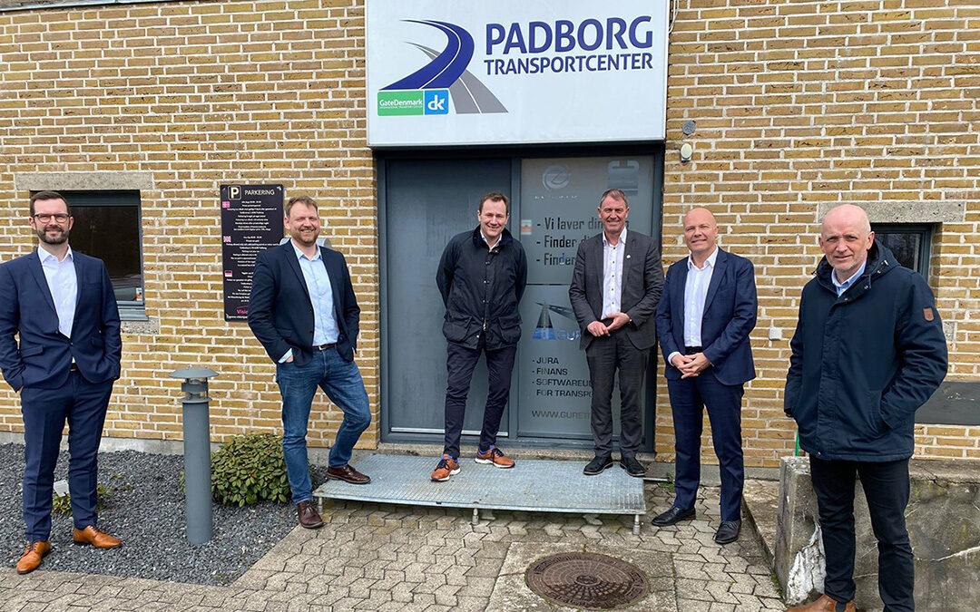 MP visits Padborg Transport Centre