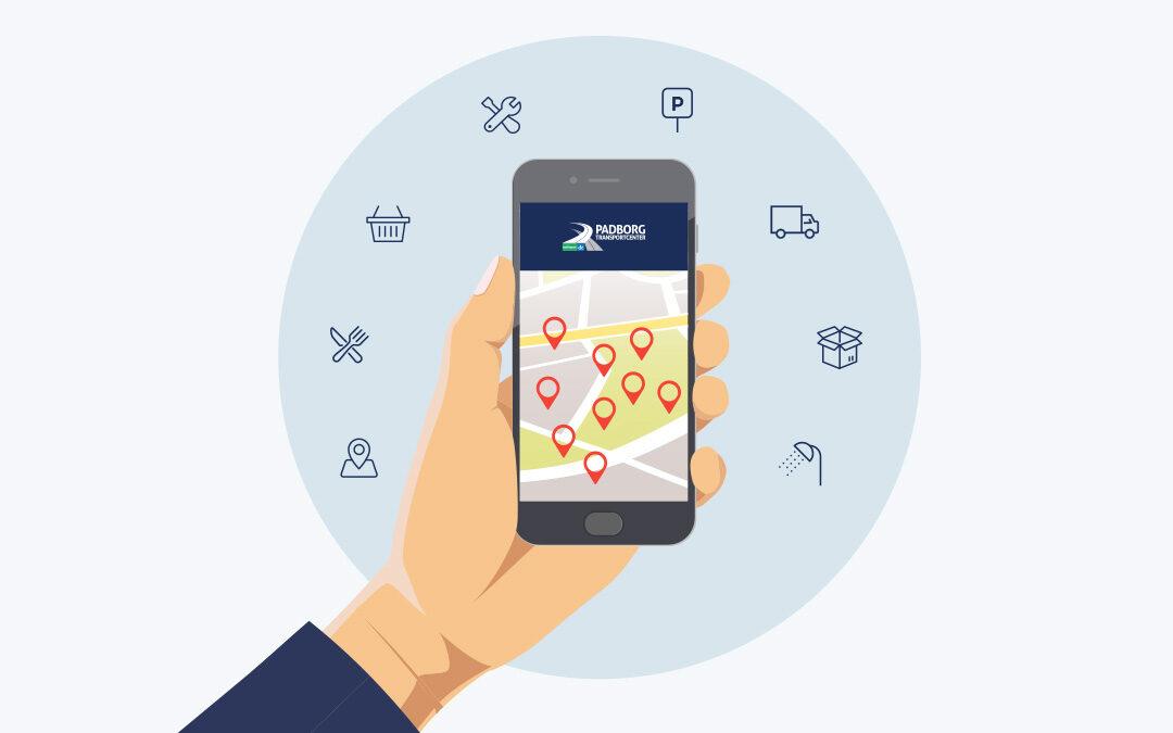 Lancering af Padborg Transportcenters nye app