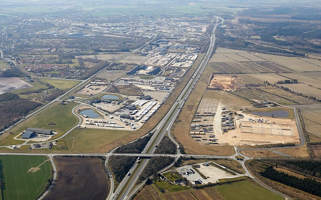 Udvikling i Padborg Erhvervsområde